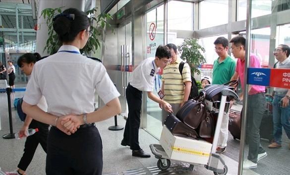 安天下爆炸物毒品探测仪服务海口美兰国际机场
