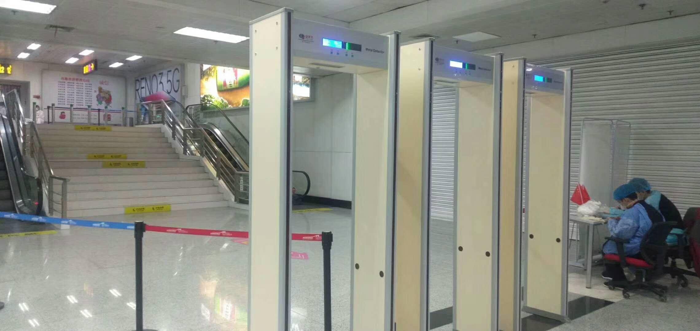 测温门-新疆乌鲁木齐地窝机场T2航站楼、T3航站楼